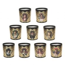 Scented Candles - Set of 9