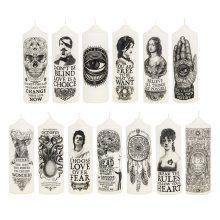 Visionary Pillar Candles - Set of 13