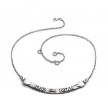 "Collana ""Kiss or Kill"""